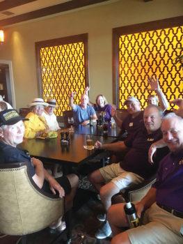 Wisconsinites enjoying the recent Badgers/Tigers game