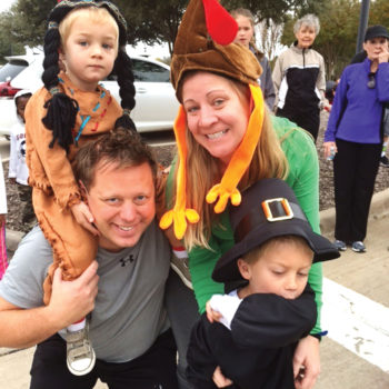 Strutting their stuff(ing) at the annual Turkey Trot