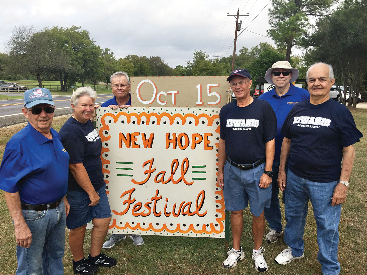 Kiwanians helping make the Fall Festival a success
