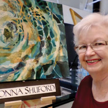 Donna Shuford, a Robson Ranch resident artist