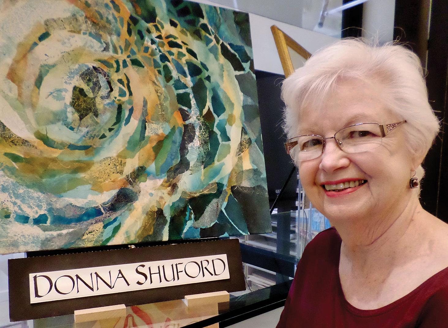 Donna Shuford, a Robson Ranch resident artist
