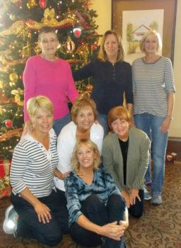 Decorating Ladies: Ellen Kilgore, Liz Tesoriero, Lee Burke, Linda Kurita, Susan Ehringer, Melody Rogers and Deborah DiPasquale; not pictured Nancy Bischoff