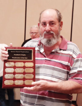 Leonard Becker, Woodworker of the Year