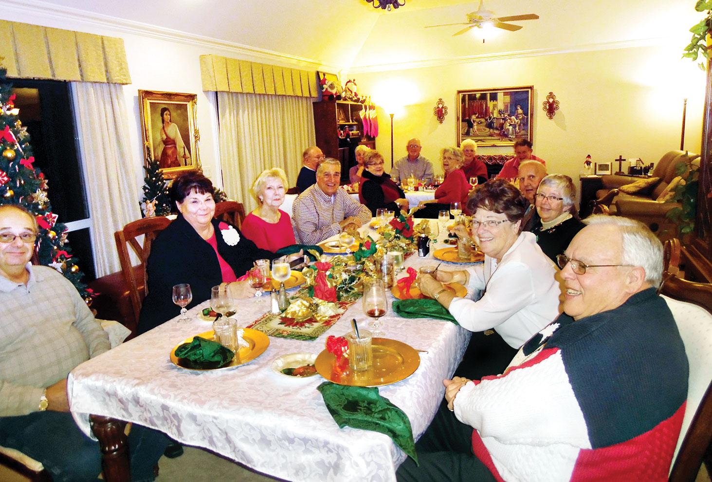 Kiwanis Club sharing a season of love and laughter