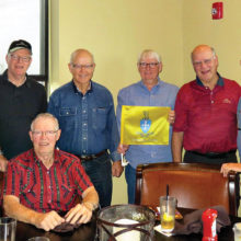The January meeting of the Sigma Chi brothers
