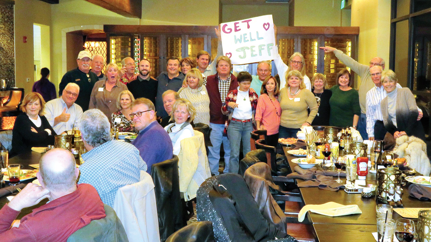 The Baby Boomers of Robson Ranch meet at the Grill.