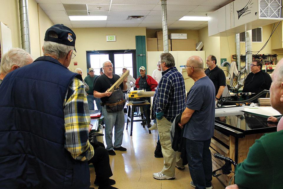 A basic woodworking class