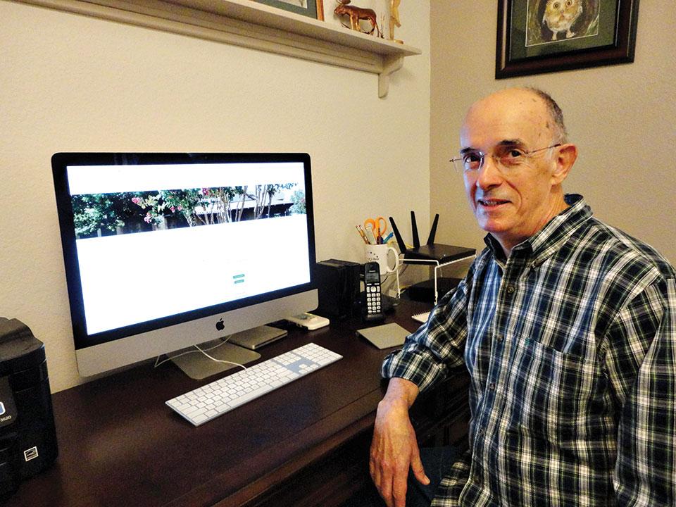 Gary Chaffee, RRLWC website designer
