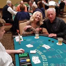 Mike and Mary Beninato love their Three Card Poker!