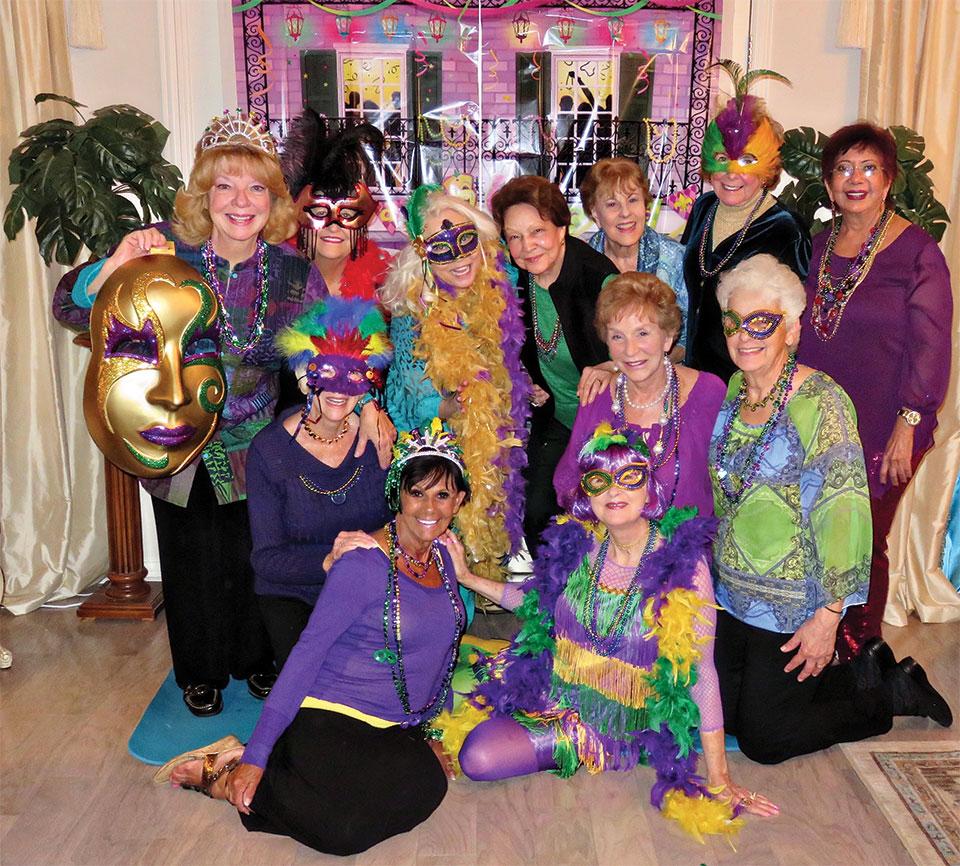 Left to right, back row: Kathy Perry, Linda Sorg, Vivian Wright, Millie Aramanda, Cherie Snowden, Charlene Cottingham and Rupa Mathur; middle row: Beverlee Deardorff, Eileen Whittaker and Bernadette Fideli; front row: Vickie Bone and Nancy Toppan