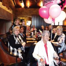 Southerland Drive neighbors celebrate Eileen Forkin's 85th birthday