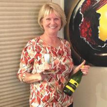 March winner, Cyndi Stampf