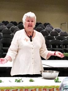 Denton County Master Gardener Zoe Broxson; Photo by Janie Cindric