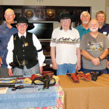 """The Antique Gun group met to discuss and share """"Guns of the Old West."""