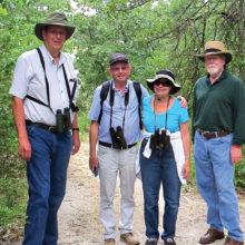The birding interest group visited Forest Lake Park.