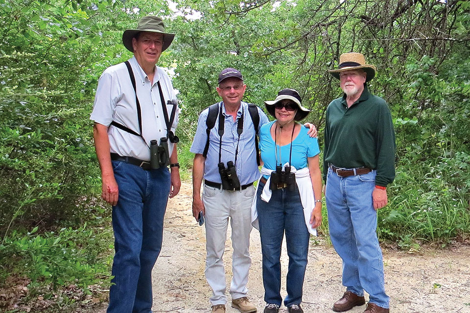 The birding interest group visited Forest Lake Park.