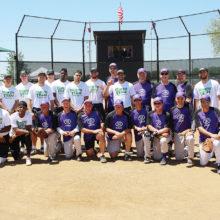 RRSA and UNT Men's Softball teams