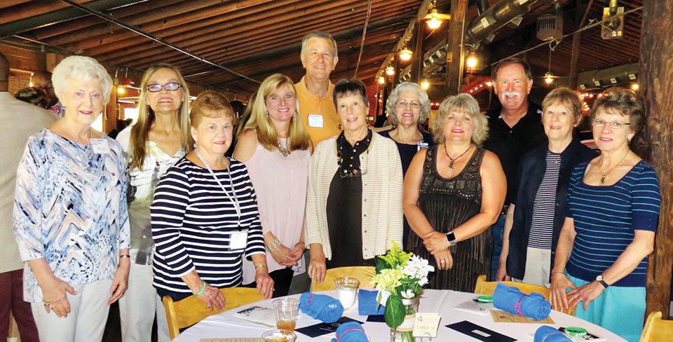 Borman Mentors at the CISNT appreciation luncheon at the Circle R Ranch in Flower Mound, TX