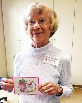 Barbara Robert, gift certificate winner