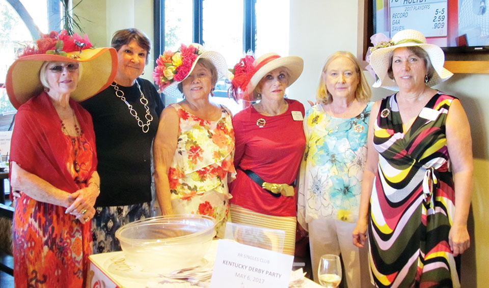 The committee, left to right: Peggy Beyer, Joi Wilson, Jeanne De Arment, Ann Blum, Patti Kelly and Rita Kosla
