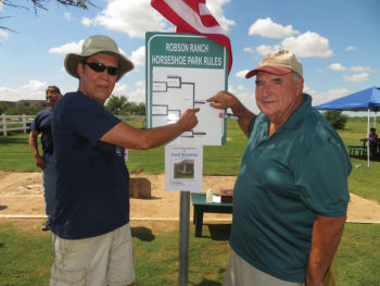 The Winners: Doug Hagan and Dick Dauphinais