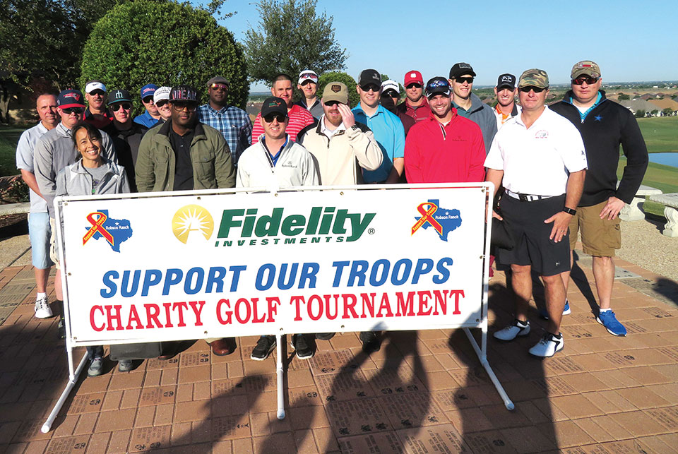 Active duty military golfers