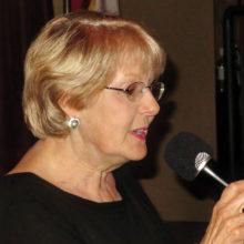 Kathleen Wazny singing at Karaoke for the last time