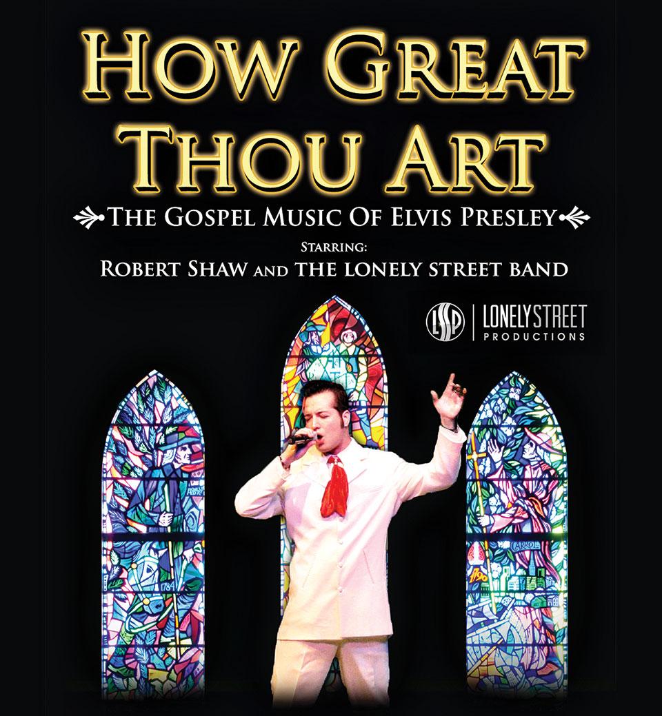Robert Shaw stars as Elvis Presley