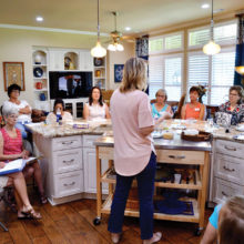 We loved tasting Kristin's creations!