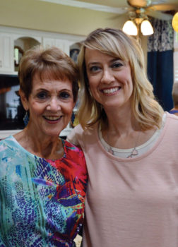 Vibrant mother daughter duo, Nancy Neal and Kristin Myres