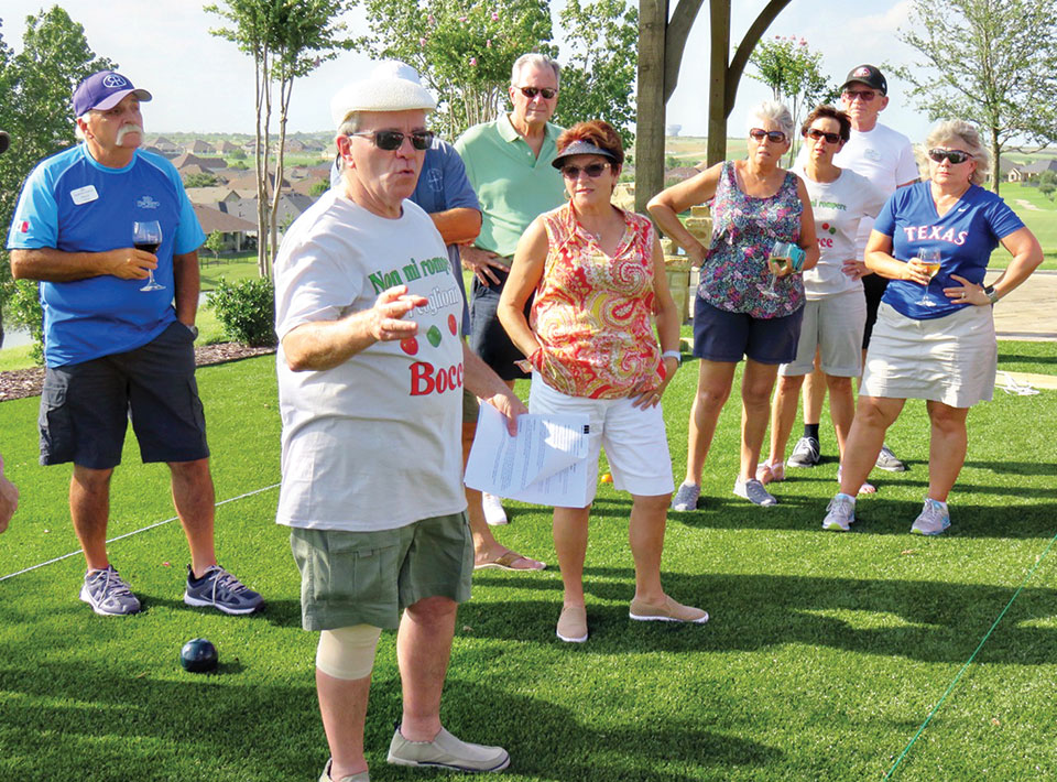 Bocce, the second most popular participatory sport in the world