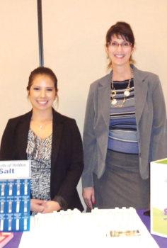 Rebecca Martinez, intern, and Dr. Anna Love, PhD, RD, LC