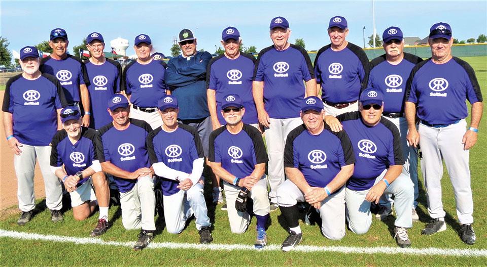 The Robson Ranch Texans Men's Softball team