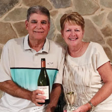 July winner, Rick and Darlene Lamb