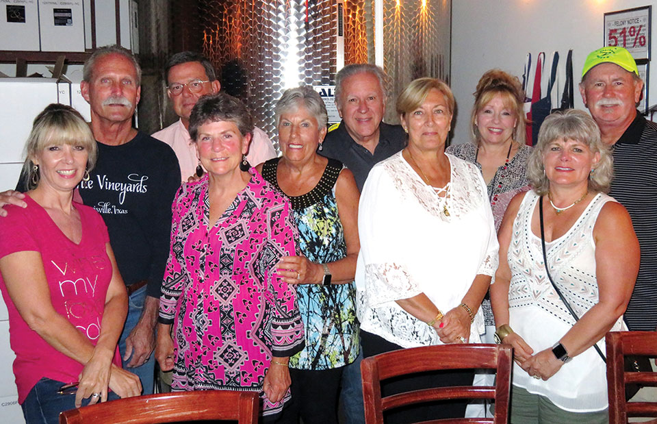 Corks and Caps with Larue Vineyards' owners
