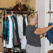 Pam Kanawyer shopping