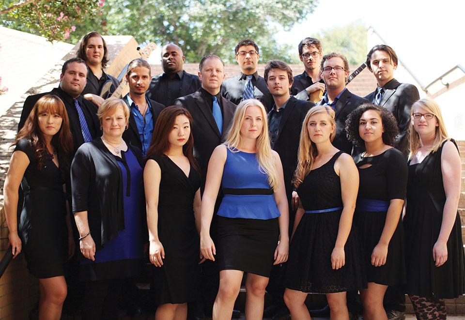 The UNT Jazz Singers