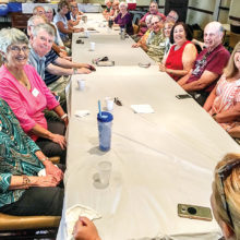 The Jewish Friendship Group meets monthly.