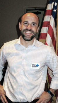 Will Fisher, Democratic candidate for Texas Congressional District 26