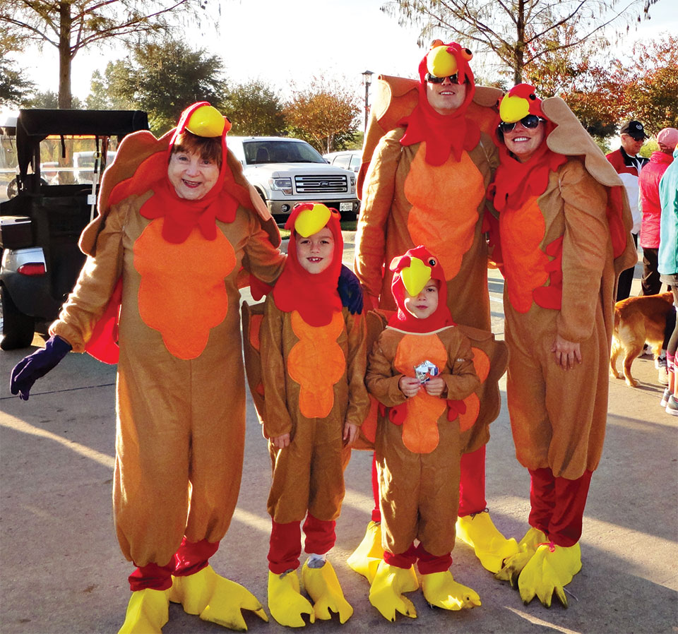 Last year's Robson Ranch Turkey Trot