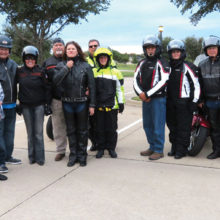 The Robson Ranch Motorcycle Club visited Arkansas.