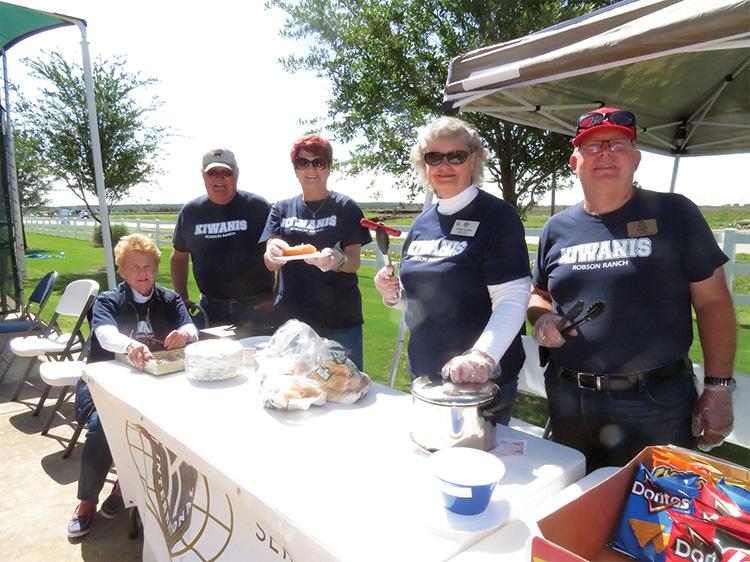 Kiwanis Club scoring big for Denton community charities.