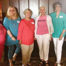 Left to right: Jan Utzman, DeAnn Parafink, Sue Davis, Kathryn Stream, Elaine Sabre and Consie Javor.