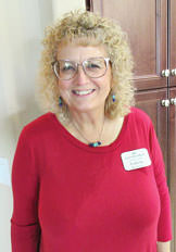 Hostess Valerie McGinnis; Photo by by Nancy Thomas.