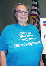 Sandy Swan, Executive Director of the Denton County Democratic Party.