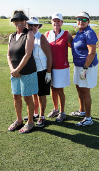 BettyLou Knowles, Gabie Bull, Linda Klovans, and Shirley Green