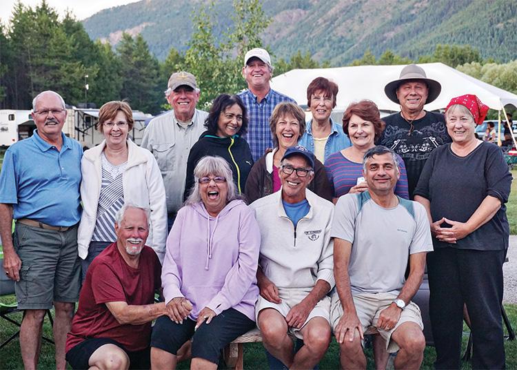 Club members that made the trip.
