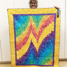 Nancy Myers, bargello quilt