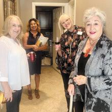 Left to right: Patti Kelly, Cecilia Sylva (IGNITE), Janice Stanton, and Marriott Terry