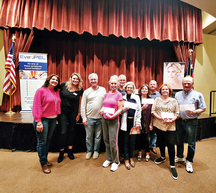 3rd Place: Alan and Sandy Boyd; JB and Judy Spalding; Jim and Lynn D'endremont; Steve and Susan Danbom